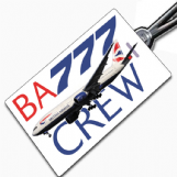 British Airways 777 Tag